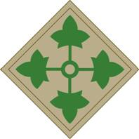 4th Infantry Division Shoulder Sleeve Insignia