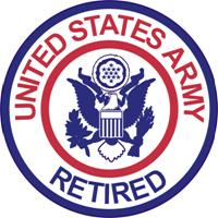 U.S. Army Retired Shoulder Sleeve Insignia